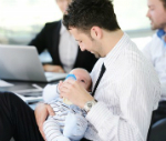After parental leave back to the company
